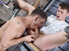 Face Fucked & Made To Cum - Youri Chevalier & Jack Taylor