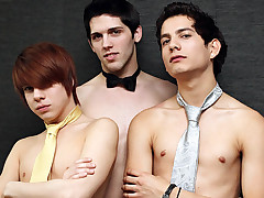 Aiden Summers, Giovanni Lovell & Kyler Quicksand - Dancing party Night-Virgins No More!