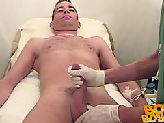 John gets his cock checked out